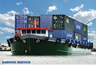 Barging service from from PNH to HCM and vice versa